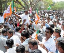 Live: Congress wins in 10 zilla panchayats, BJP bags 7