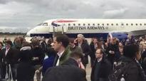 Tear gas closes London City Airport: Empty canister discovered in search of terminal blamed for 'chemical incident'