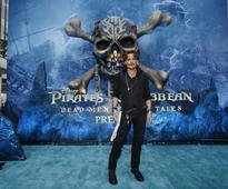 A 'Pirates' life for Depp as he sets sail in fifth film