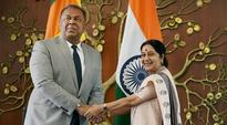 Sushma arrives in Lanka; fishermen, Tamils rights issues likely to be discussed