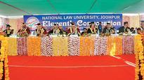 National Law University Jodhpur hosts eleventh convocation