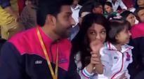 Aaradhya Bachchan enjoys game time with mom Aishwarya and dad Abhishek; watch video