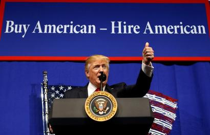 Trump signs executive order to review H-1B visa programme