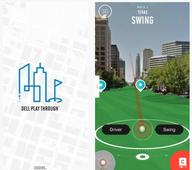 Play Through golf app puts you at The Driskill, on the streets of Austin