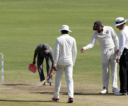 Pune pitch rated as 'poor' by ICC match referee