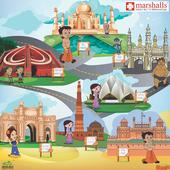 Marshalls launches India's most Popular Cartoon Character Chhota Bheem's Wallcovering Collection