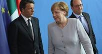Berlin, Paris and Rome urge speed and unity among EU leaders