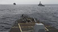 'GRAVELY ILLEGAL' ACT China blasts US over destroyer's passage
