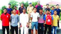 Cricketers flagged off for exposure tour
