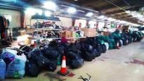 Seven hundred bags of clothes left by GNR runners