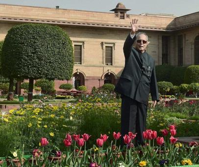 Welcome to the President's majestic Mughal Garden