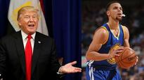 Donald Trump blocks White House invitation to Stephen Curry and NBA champs The Golden State Warriors