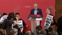Human rights campaigner embarrasses Corbyn
