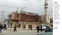 Suicide bombing at Shia mosque in Kabul; 27 killed, 38 injured