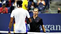 US Open: Teenage sensation Denis Shapovalov upsets Jo-Wilfried Tsonga in straight sets