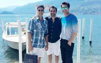SEE PIC: Asin and husband Rahul join Akshay and Twinkle on their Italian vacation
