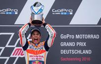 Marquez wins at German MotoGP