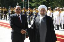 Yesterday South Africa's Zuma in Iran and praises 1979 revolution