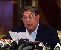 N Srinivasan-led BCCI faction fires 10-point salvo against COA; Acting secretary Amitabh Choudhary skips meet