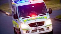 Bus rollover near Bundaberg, two people trapped