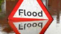 Roads flooded as heavy rain swells rivers across north east