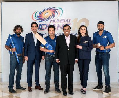 Ambanis celebrate 10 years of Mumbai Indians