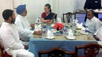 Sonia Gandhi hosts dinner for Cong MPs to mark conclusion of Budget Session