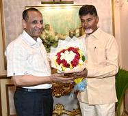 Naidu meets Governor