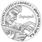 2017 Native American $1 Dollar Design Image