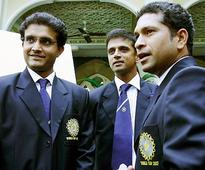 Tendulkar, Dravid in Ganguly's Best-ever Cricket XI