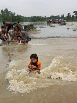 Army column, ETF deployed in flood-affected areas of Bihar