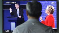 Foreign reaction to the first Trump vs. Clinton debate