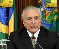 Brazil's president to block any corruption amnesty