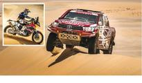 Al Attiyah, Casale extend dominance at Sealine Qatar's Nasser Saleh Al Attiyah and his French navigator Matthieu Baum...