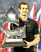 Murray lifts 45th career title