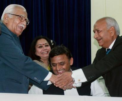 Justice Sanjay Mishra sworn in as new UP Lokayukta