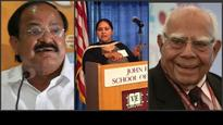 Venkaiah Naidu, Ram Jethmalani, Misa Bharti among candidates who file RS papers