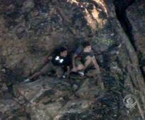 Chopper saves 2 teens stranded 8,000 feet up on jagged Calif. cliff