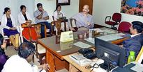 Chief Medical Director inspects Railway Hospital