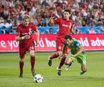 Jordan Morris goal gives Seattle Sounders a 1-1 draw with Toronto FC