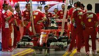 Formula One: Vettel victory hopes dashed as Ferrari falter