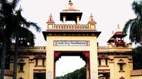 BHU former VC GC Tripathi faces angry students on his farewell