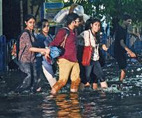 Marooned by monsoon deluge