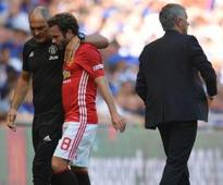 Mourinho insists Mata was 'fine' with substitution despite angry response