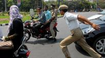 Motorists ignore traffic police suggestions in Visakhapatnam