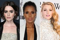 Blake Lively, Kerry Washington and Lily Collins Inspire Bridal Beauty on the Red Carpet