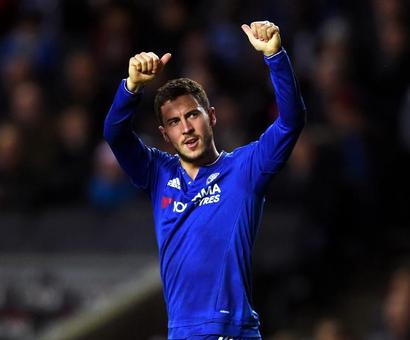 Chelsea's Hazard targets Champions League glory