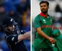 ICC Champions Trophy 2017, New Zealand vs Bangladesh Live cricket score and updates: Rubel traps Guptill LBW for 33