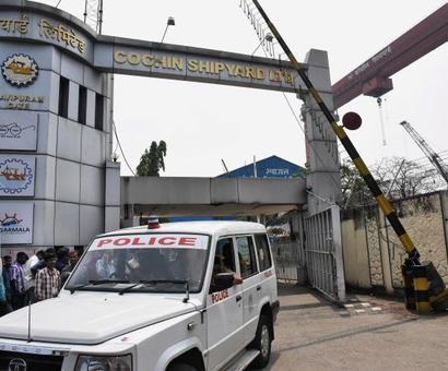 5 killed in blast on vessel under repair at Cochin Shipyard