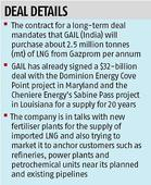 GAIL to bring Gazprom LNG to India next month at reduced prices